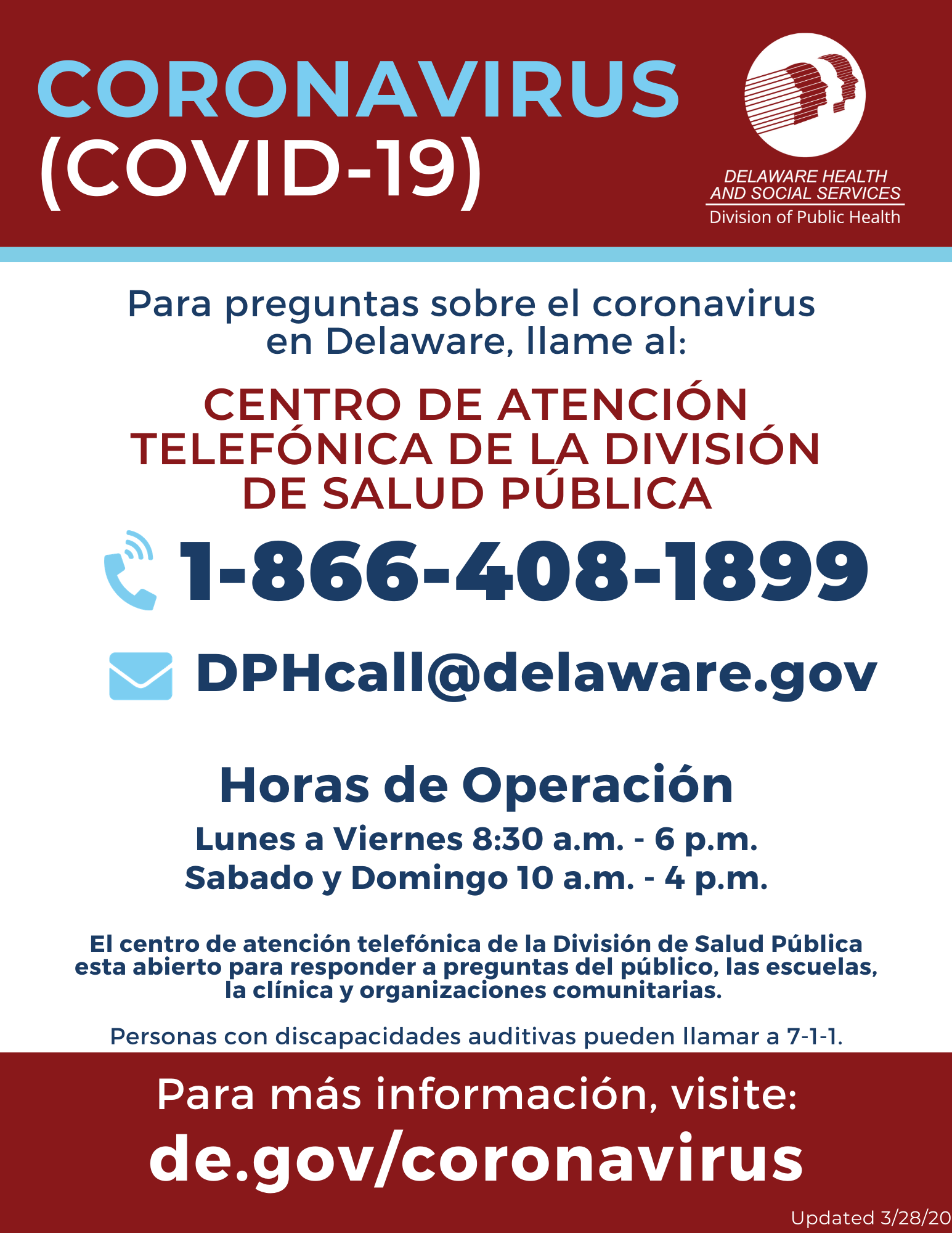Spanish language call center