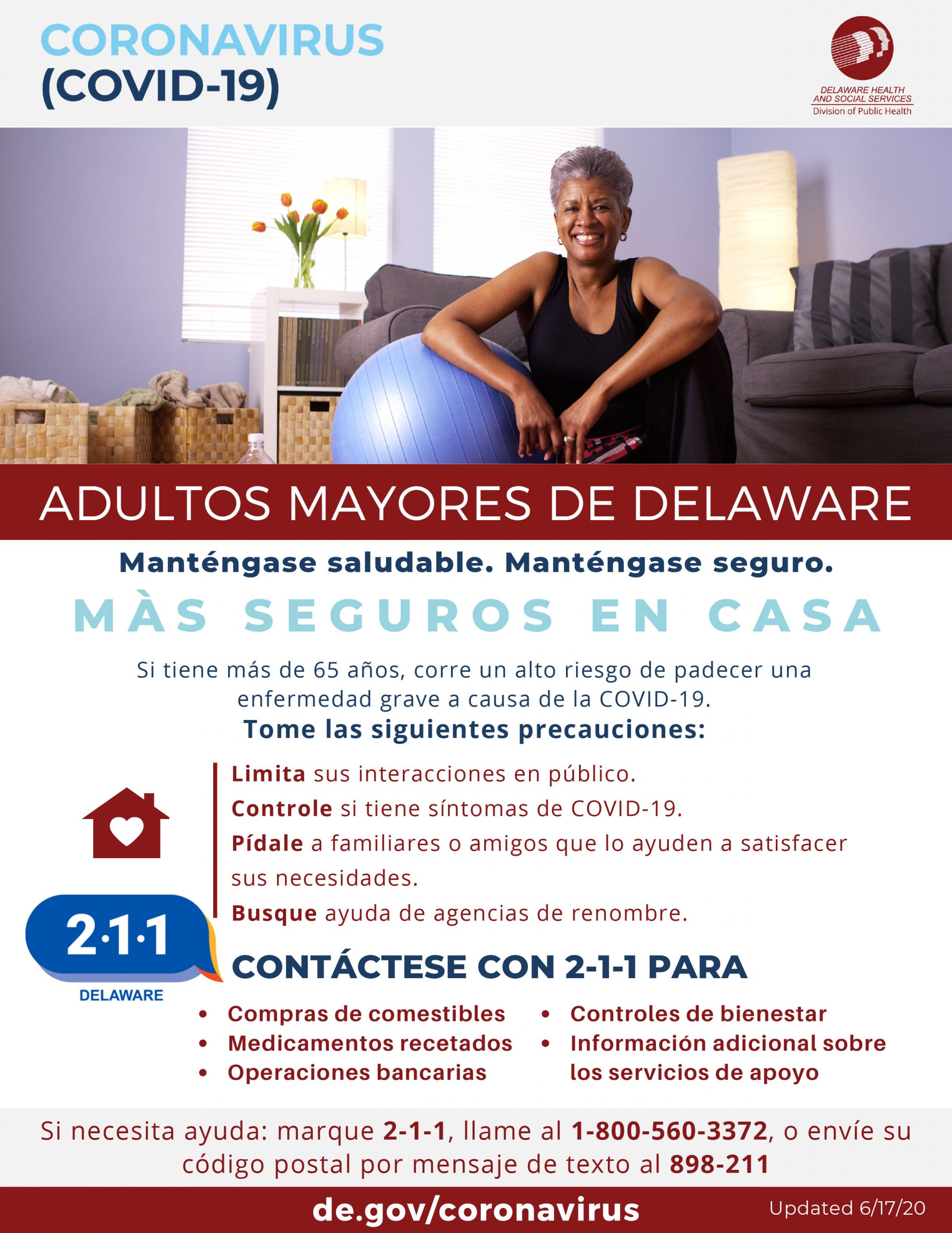 Delaware Seniors PSA Spanish Version