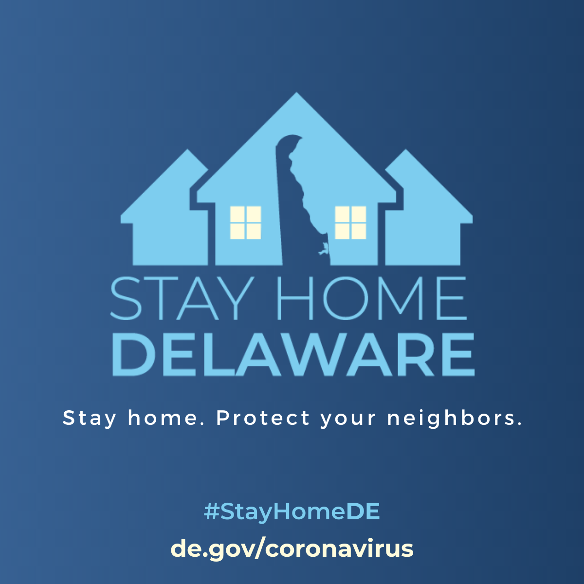 Stay home. Protect your neighbors.