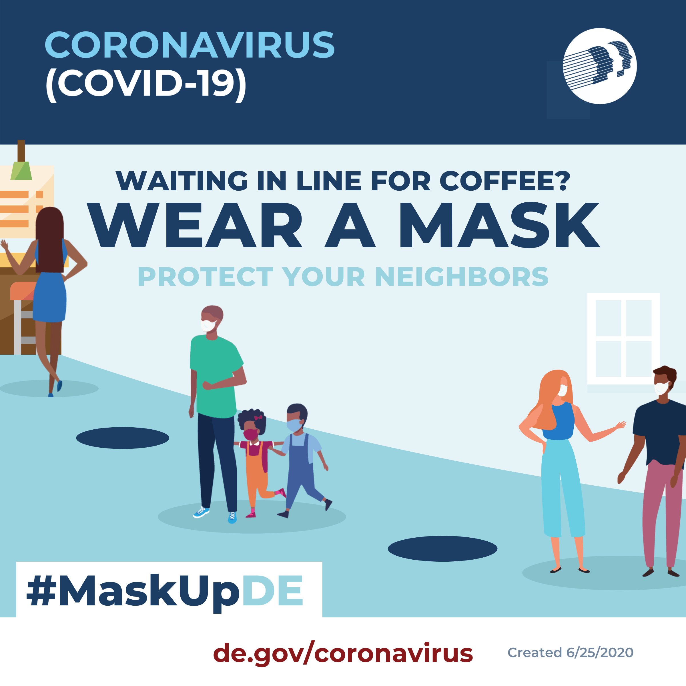 Wear a mask. Protect yourself and others.