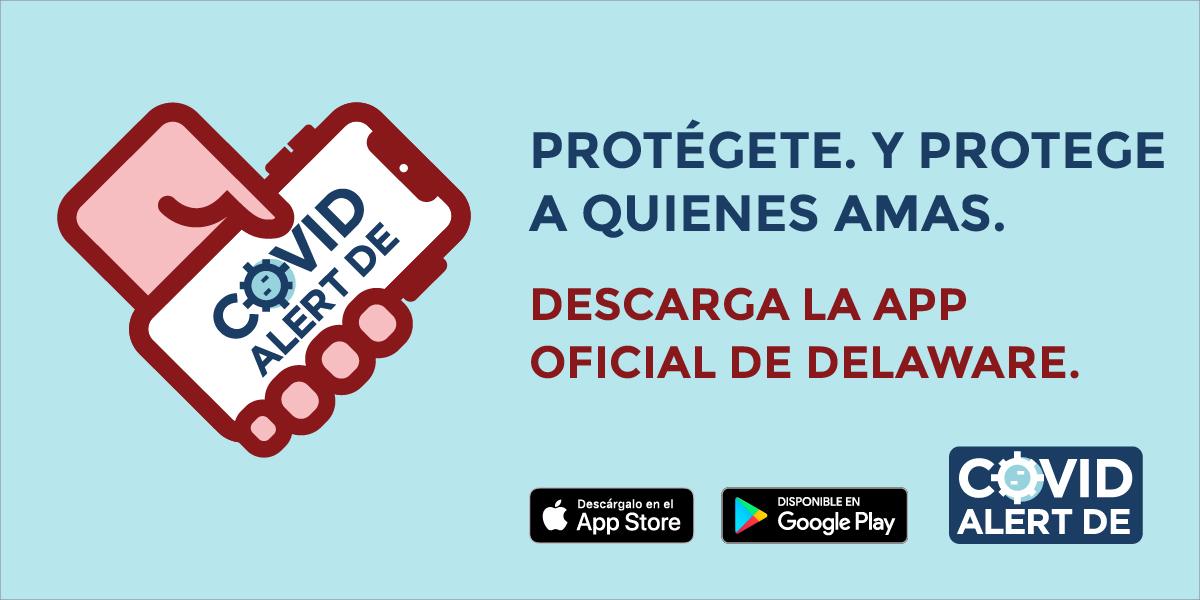 Spanish COVID Alert DE social media post