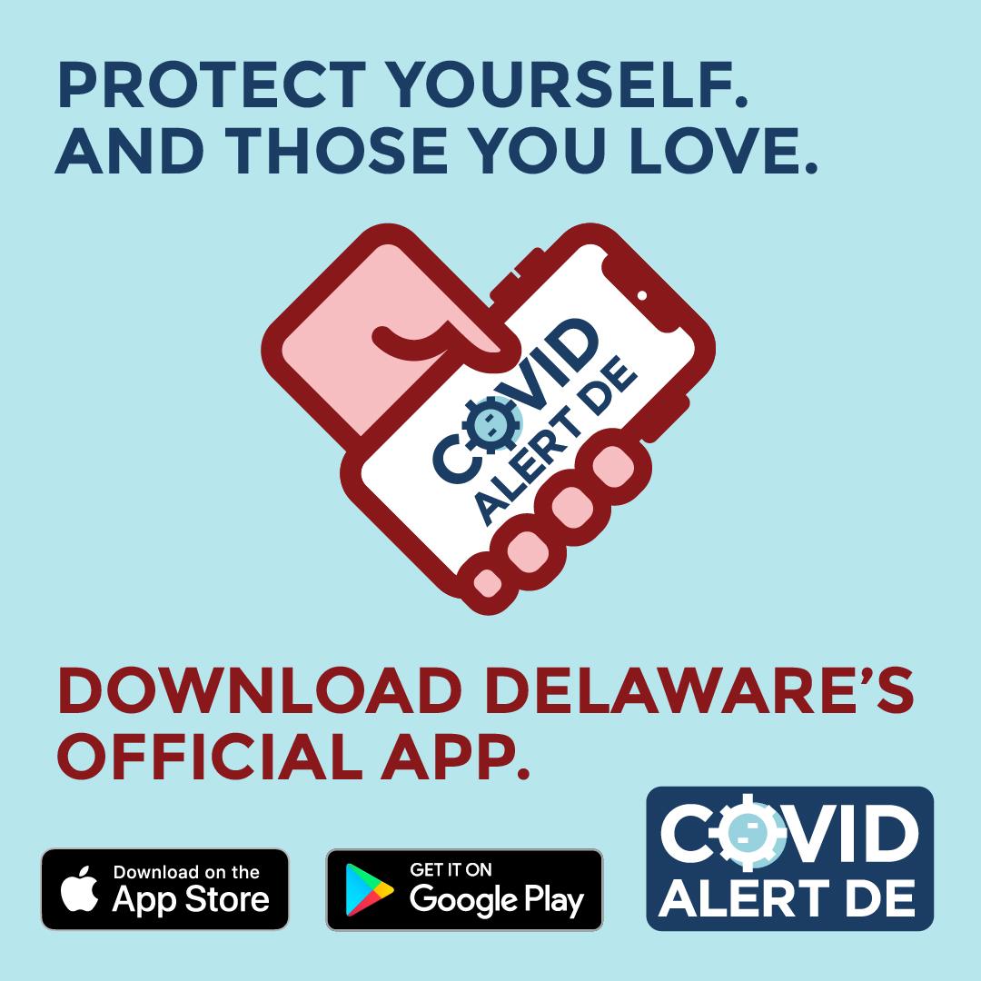 COVID Alert DE Social Media