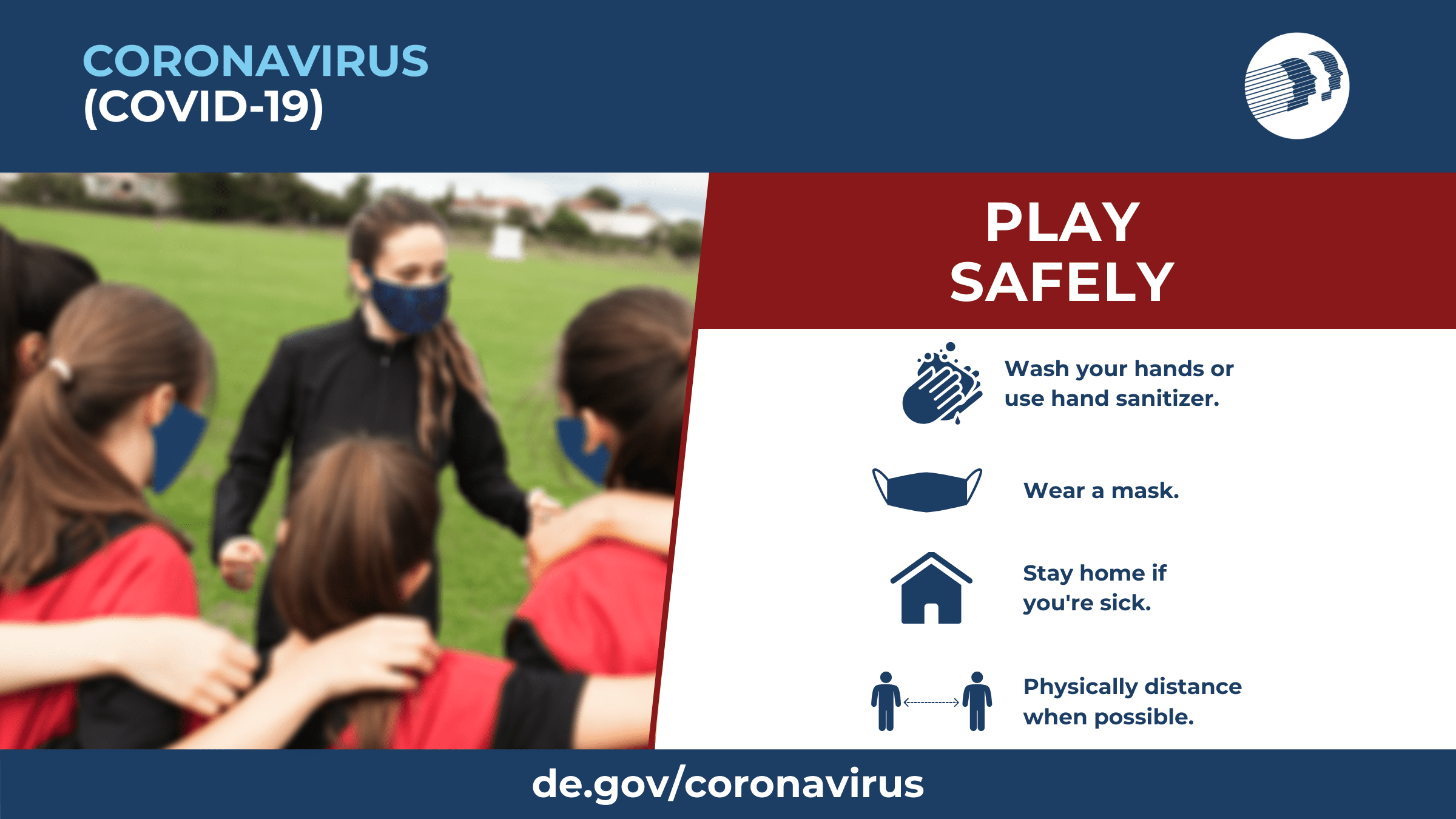 Play Safely. Social Graphic.