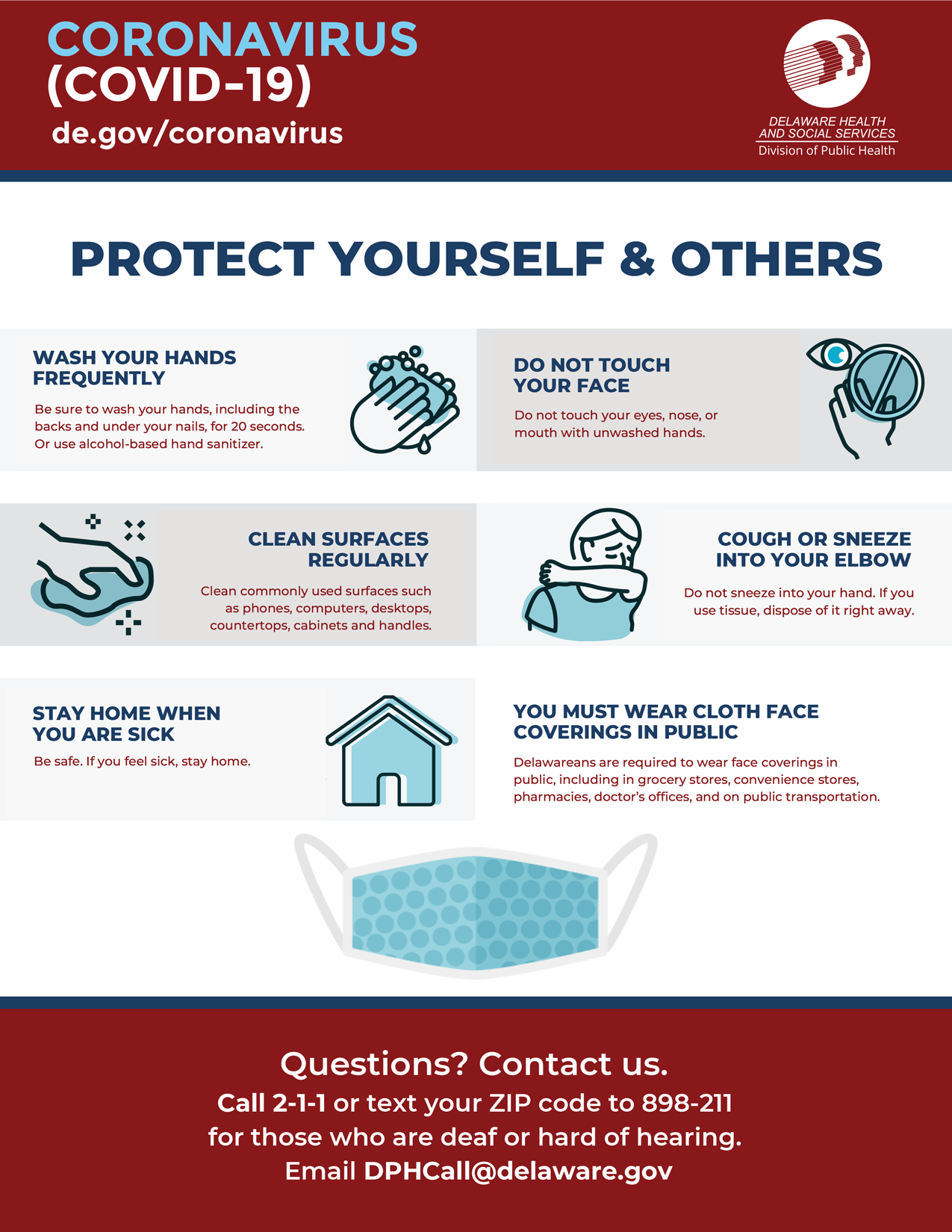 Protect Yourself and Others Graphic
