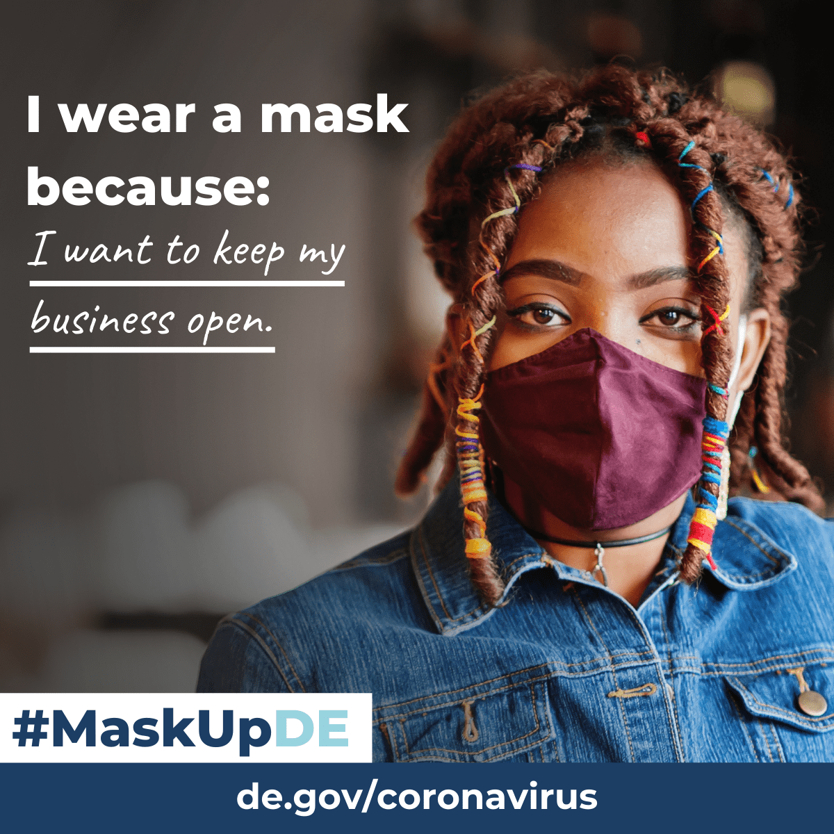 I wear a mask because...