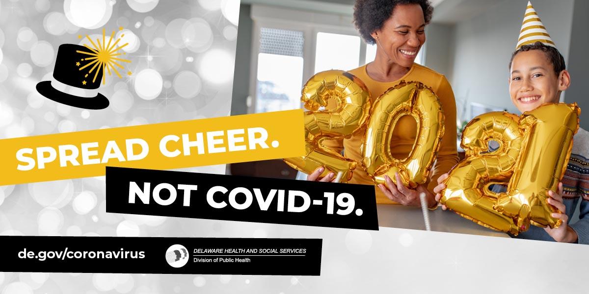 Spread Cheer - not COVID-19