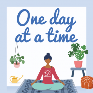 One day at a time graphic