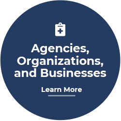 Agencies, Organiziations and Business Button