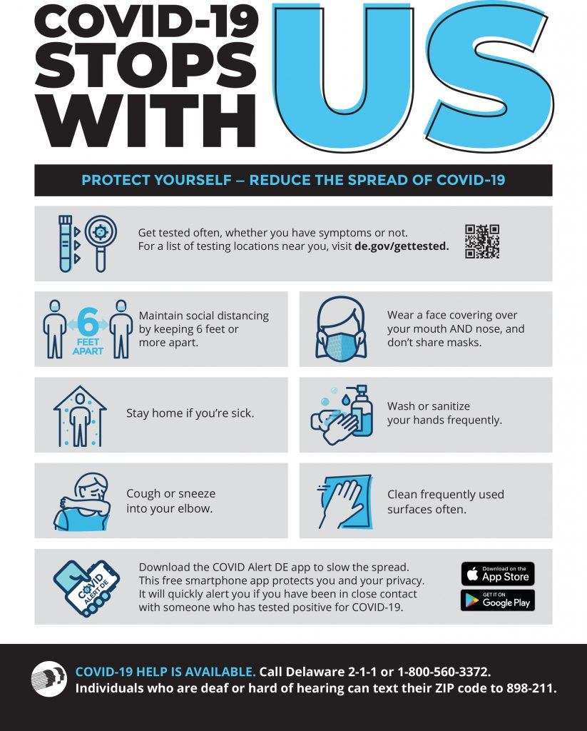COVID-19 Stops with us - Employee flyer - PDF Download