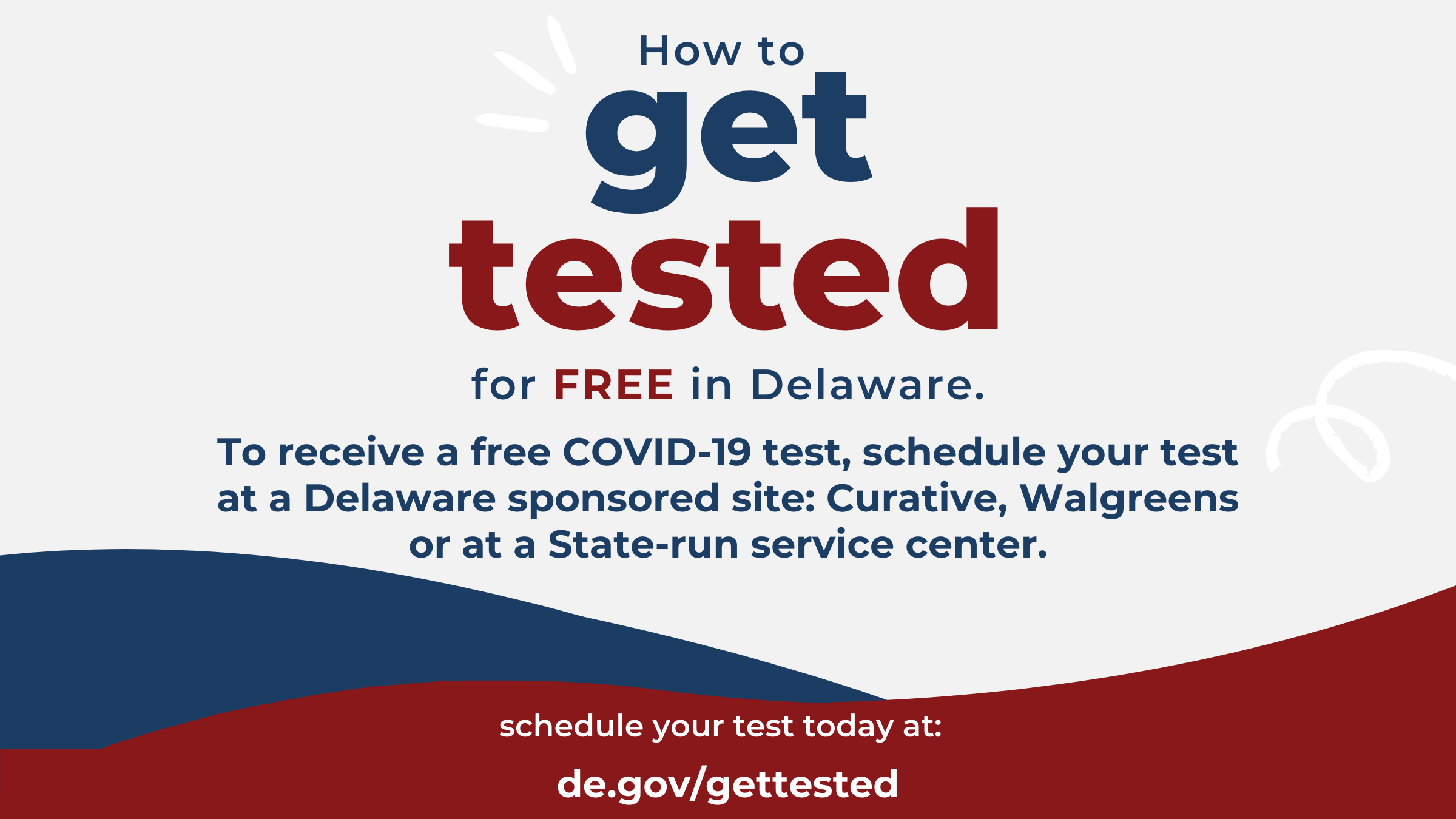 How to get tested for free in Delaware