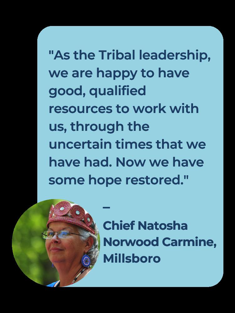 Chief Natosha Norwood Carmine COVID-19 vaccine testimonial