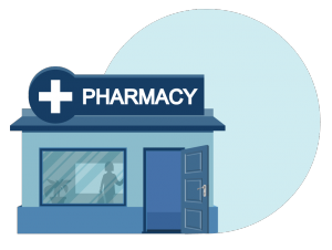 pharmacy illustration