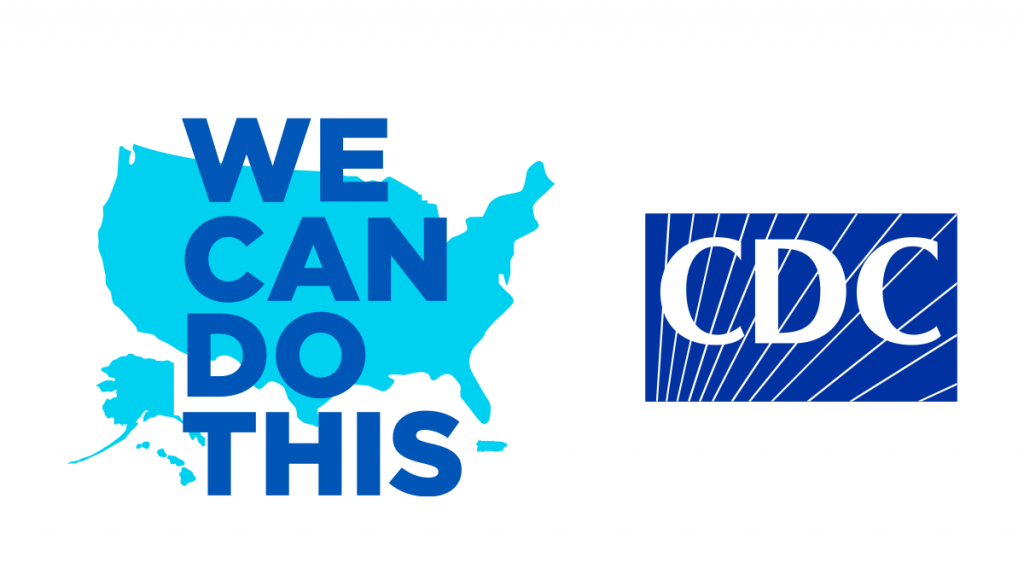 CDC We Can Do This logo and the CDC logo