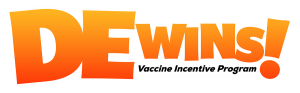DE Wins vaccine incentive program logo