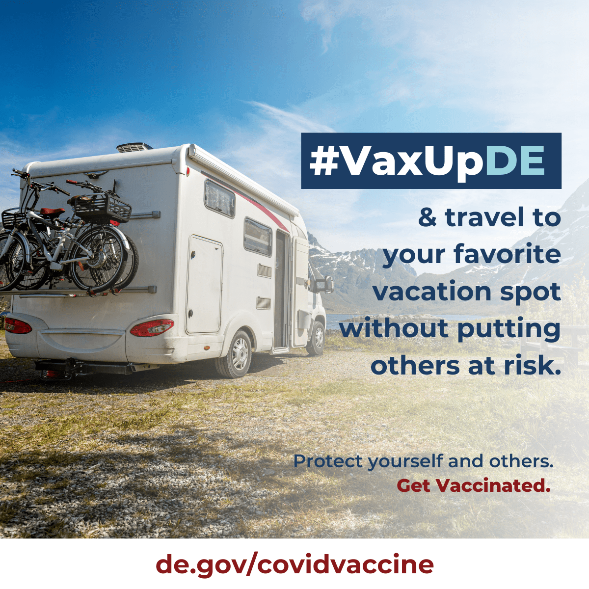 VaxUpDE Protect yourself and others. Get vaccinated.