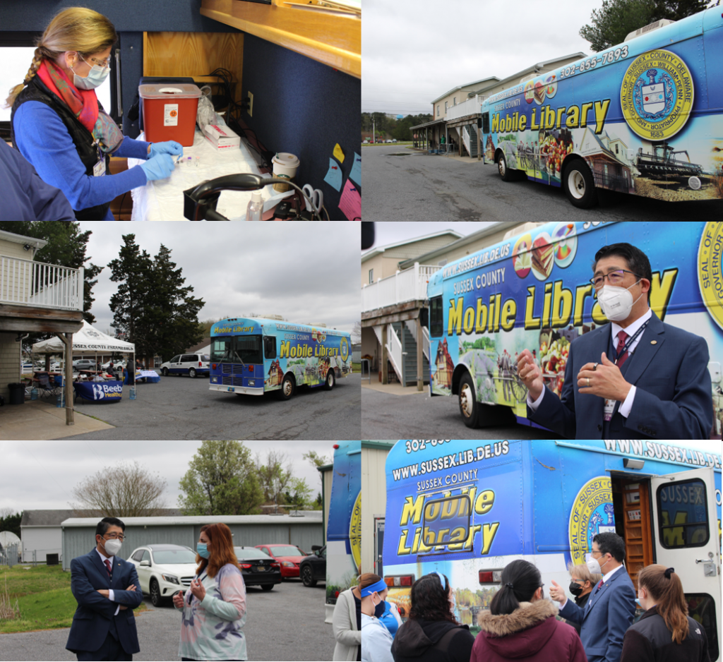 Beebe Bookmobile events